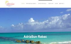 AdriaSun Rabac V2 – Dizajn web stranice, Višejezični CMS sustav, optimizacija, booking sustav