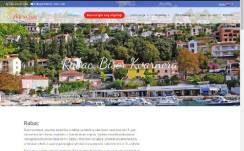 AdriaSun Rabac  – Dizajn web stranice, Višejezični CMS sustav, optimizacija, booking sustav