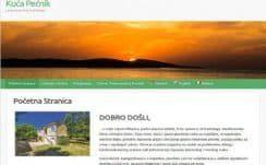 Haus Pečnik  – Dizajn web stranice, Višejezični CMS sustav, optimizacija, booking sustav