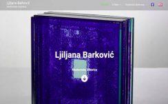 Ljiljana Barković Art– Dizajn web stranice, Višejezični CMS sustav, optimizacija