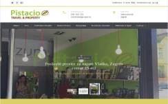 Nekretnine Pistacio V2 Web design, Višejezični CMS sustav, optimizacija