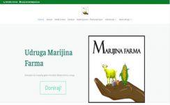Udruga Marijina Farma – Dizajn web stranice, CMS sustav, optimizacija